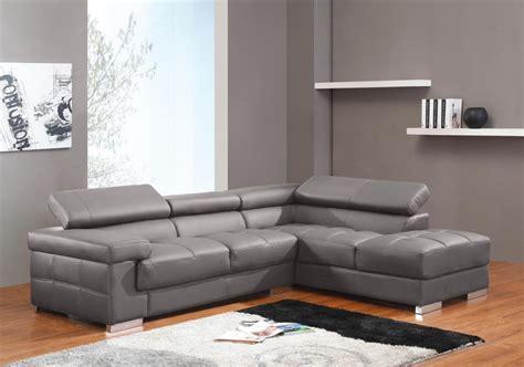 canape angle cuir gris photos canapé d 39 angle cuir gris