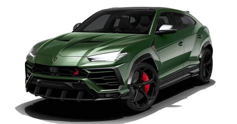 topcar planning aggressive body kit   lamborghini urus