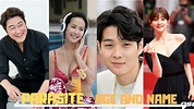 """""""PARASITE"""" Cast Real Name and Age (South Korean Movie ..."""