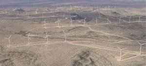 Configuration For Lighting Windmill Farms