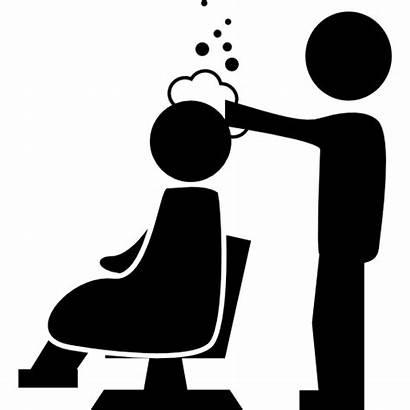 Salon Shampoo Hair Icon Application Clipart Icons