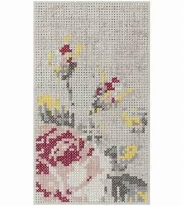 Canevas Pour Tapis : canevas flowers mini tapis gan milia shop ~ Farleysfitness.com Idées de Décoration
