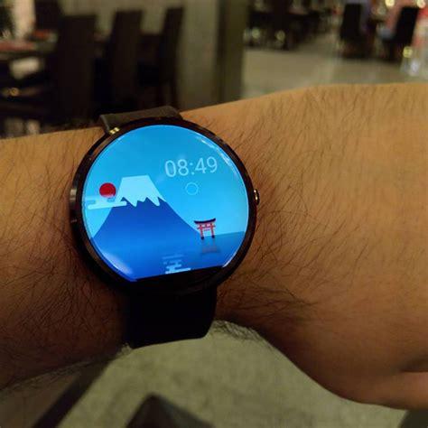 android wear tutorial come installare una watchface su android wear