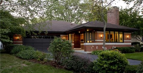 painted small prairie style house plans house style design 335 cottage hill exterior sf prairiearchitect
