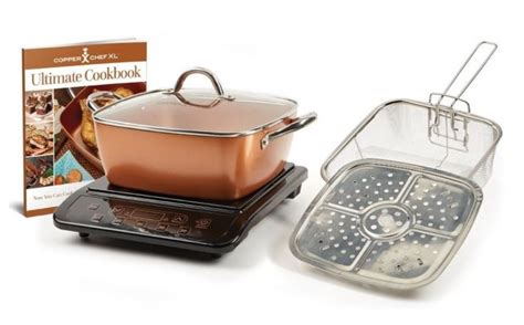 copper chef  pan  induction cooktop review  giveaway