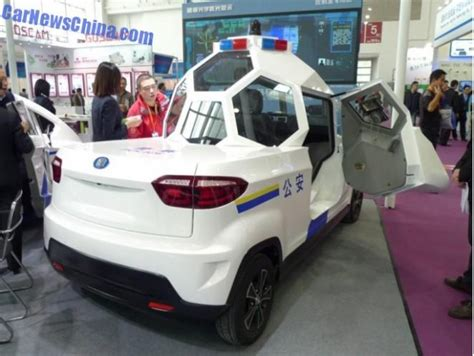 Armored Electric Chinese Police Patrol Car Is ... Words
