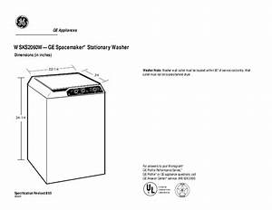 Ge Spacemaker Xl1400 Service Manual