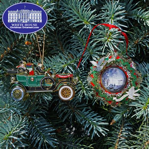 2013 white house christmas ornament gift set