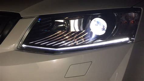 skoda octavia rs bi xenon headlights