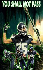 You shall not pass on the Seattle Seahawks LEGION OF BOOM ...