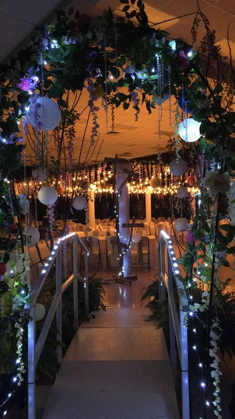 Enchanted Forest Prom Theme  Want To Pinterest