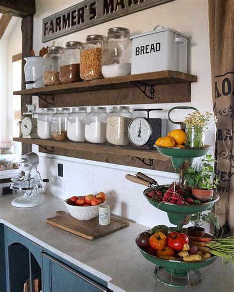 themed kitchen canisters top 29 diy ideas adding rustic farmhouse feels to kitchen