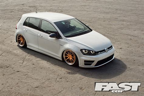 volkswagen golf modified modified mk7 vw golf r fast car