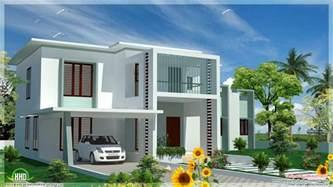 modern home plans 4 bedroom modern flat roof house house design plans