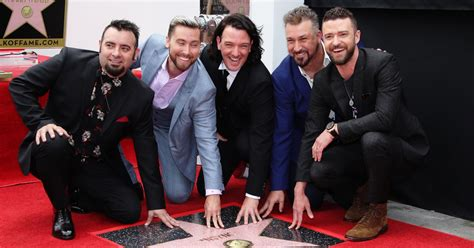 'nsync Give Poignant, Self-deprecating Walk Of Fame