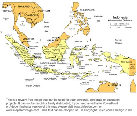 indonesia map printable