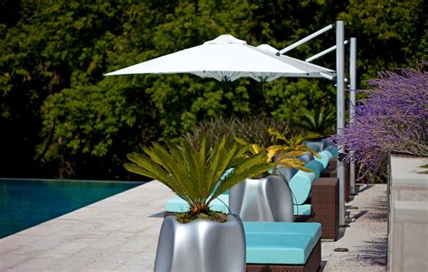 patio umbrellas vogue midcentury pool