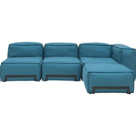 canapé fauteuil canapé padded modulable avec pouf fauteuil et élément d 39 angle