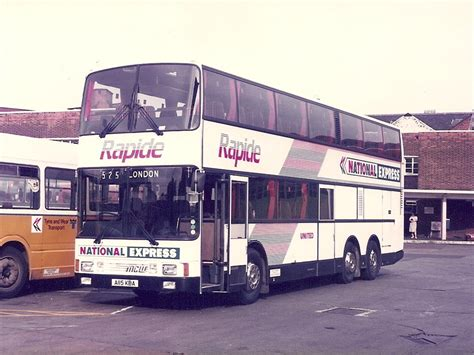 national express double deckers