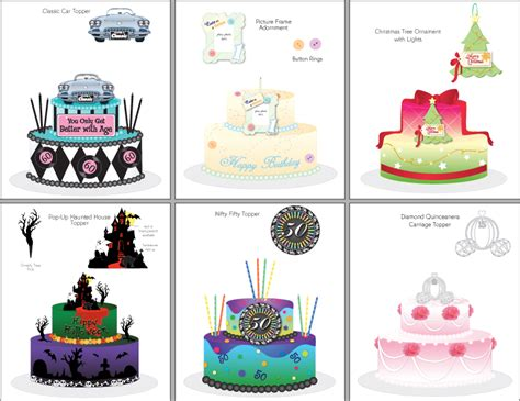 sams club cake designs catalog confectionery product design illustration by