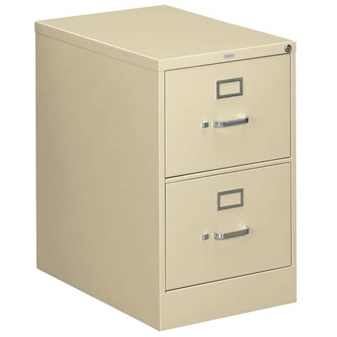 hon 312cpl 310 series putty full suspension two drawer