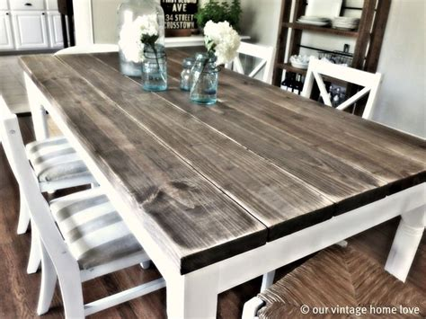 diy country kitchen table marvelous affordable rustic dining room table best 6808