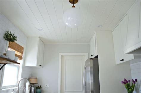 remodelaholic diy beadboard ceiling  replace