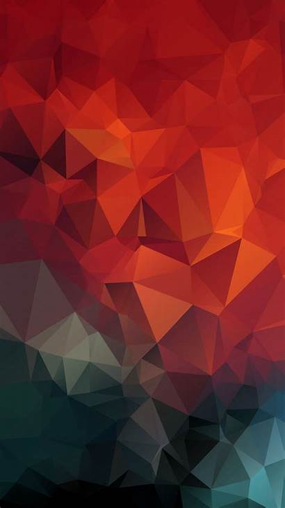 Geometric Mosaic Triangles Iphone 4k Wallpapers Background