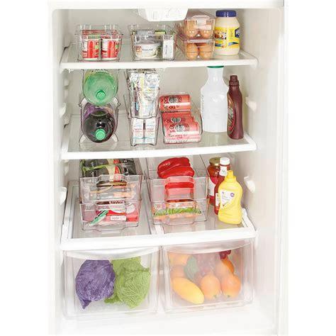 Home Depot Kitchen Organizers by Kitchen Details Clear Large Refrigerator Shelf Organizer