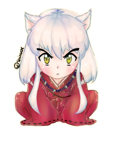 Traditional Samurai Art Wallpaper Chibi Inuyasha By Spiny21works On Deviantart