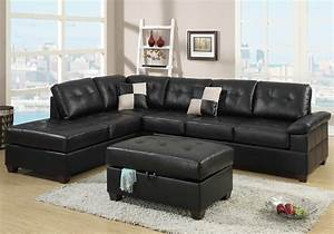 new reversible sectional sofa chaise storage ottoman With black sectional sofa ebay