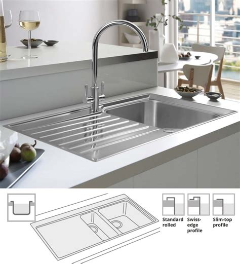 kitchen sink options sink options 2800