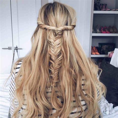casual simple hairstyles