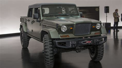 jeep chief truck jeep wrangler crew chief concept photo gallery autoblog