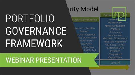 pmo   create  effective portfolio governance