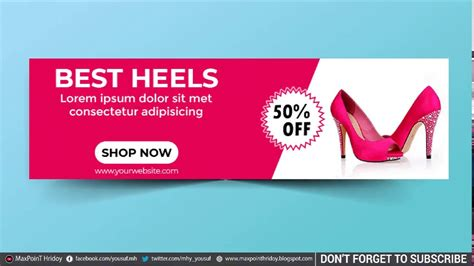 Web Banner in Photoshop How to Cerate