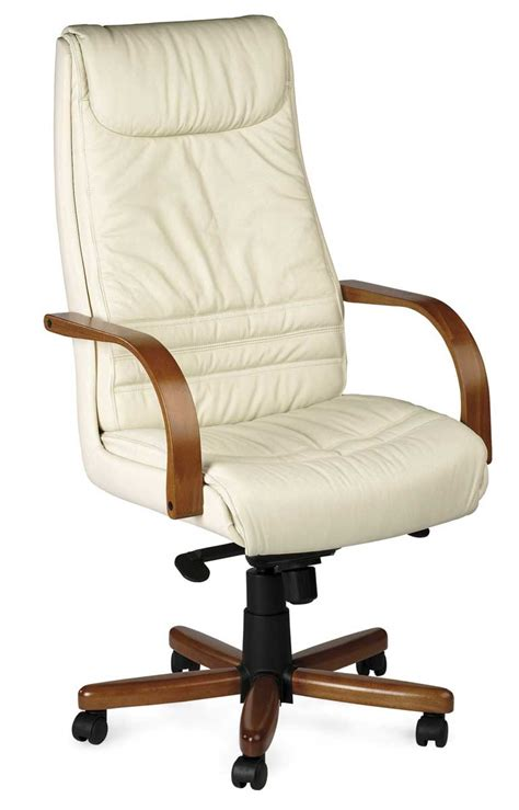 fauteuil de bureau cuir blanc fauteuil en bois et cuir fauteuil de bureau en bois