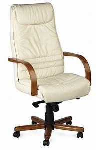 Fauteuil Cuir Bureau : fauteuil de bureau en bois et cuir lyon c multiples finitions ~ Teatrodelosmanantiales.com Idées de Décoration