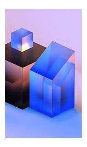 Crystal Cube c4d practice on Behance in 2020