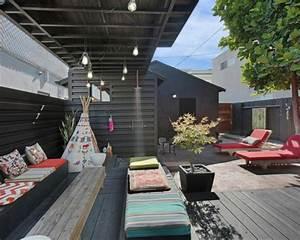 deco terrasse bois With deco terrasse en bois