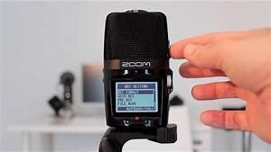 Zoom H2n Handy Digital Audio Recorder Unboxing  U0026 Review