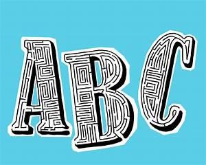Buchstaben Zum Aufkleben : abc buchstaben zum ausmalen ~ Watch28wear.com Haus und Dekorationen