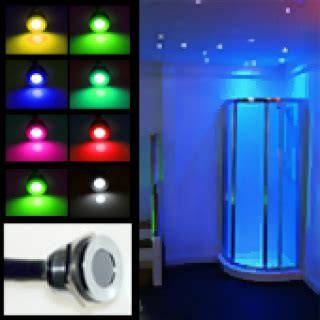led shower lights waterproof waterproof led lighting for bathrooms including niches and