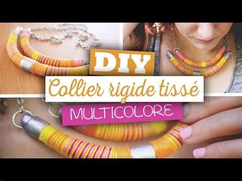 diy bijoux cr 233 er un collier ethnique 224 base de p 226 te fimo et tissage