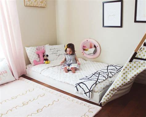 modeles de lit au ras du sol pour la chambre  coucher