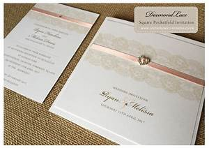 lace collections a bespoke wedding stationery save the With lace pocketfold wedding invitations uk