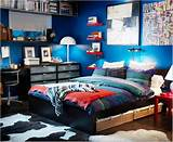 Teen bedroom decorating boys