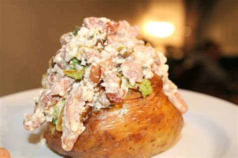 Cottage Cheese Recipes Healthy by Healthy Easy Recipe Cottage Cheese Jacket Potato With A