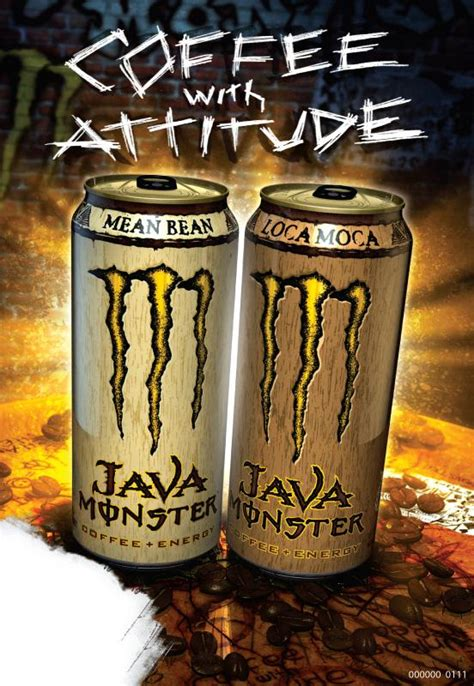Amazon.com : Java Monster Coffee Energy Drink, Loca Moca