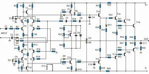Free Wiring Diagram  2000w Transistor Audio Power